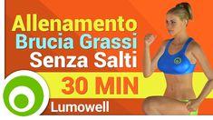 Allenamento Brucia Grassi Senza Salti per Dimagrire e Tonificare - Eserc...
