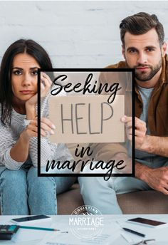 Are you struggling in marriage and need some outside help to help you move past your issues? Come see when it's time to seek help in marriage and how to find hope in a season of strife in your relationship. Marriage Scripture, Biblical Marriage, Marriage Prayer, Marriage Vows, Marriage Life, Happy Marriage, Relationship, Communication In Marriage, Intimacy In Marriage