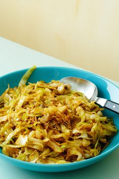 """Low Carb Recipes Thai Curry Cabbage More - Feeling """"hot-hot-hot""""? Spice up dinner with this easy low-carb side. Fried green cabbage gets cozy with Thai red curry in a wok near you. Everyone at your table will celebrate this match! Tasty Vegetarian Recipes, Vegetable Recipes, Low Carb Recipes, Cooking Recipes, Healthy Recipes, Free Recipes, Ketogenic Recipes, Vegan Vegetarian, Cooking Tips"""