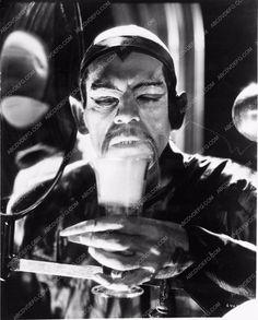 photo Boris Karloff classic horror film The Mask of Fu Manchu 3267-29