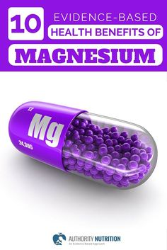 Magnesium is an important mineral for your brain and body
