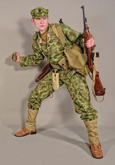 Military - uniform US soldiers USMC camo 02 by MazUsKarL . Military - uniform US soldiers USMC camo 02 by MazUsKarL Source by karlmazus. Military Camouflage, Military Gear, Military History, Marine Corps Uniforms, Ww2 Uniforms, Military Uniforms, Gi Joe, American Uniform, Battle Dress
