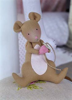 Mouse - just one of the forest animals from the Tilda book Sew Sunny homestyle