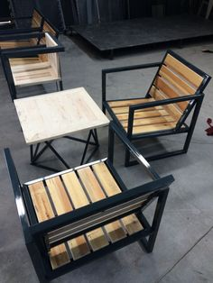 Photo in 5514 Furniture Design Welded Furniture, Iron Furniture, Steel Furniture, Furniture Plans, Home Furniture, Furniture Design, Outdoor Furniture, Furniture Stores, Furniture Makeover