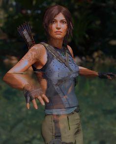 Tom Raider, Resident Evil Girl, Tomb Raider Lara Croft, Cosplay Costumes, Gaming, Game Art, Warriors, Fictional Characters, Wallpapers