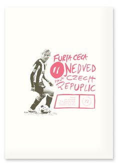 Football Legends by Lasse Betzer, via Behance