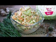¡Una nueva Ensalada de la Col – apetece comer todo, hasta que Sabroso! Kefir, Fish Recipes, Potato Salad, Cabbage, Food And Drink, Lime, Cooking Recipes, Vegetables, Ethnic Recipes