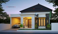 Simple House Design, Modern House Design, Minimalis House Design, 3d House Plans, Beautiful House Plans, House Design Pictures, Modern Bungalow House, Architectural House Plans, Kerala Houses