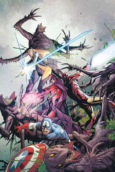 Uncanny X-Men Vol.2 #9 by Carlos Pacheco