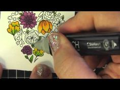 Katherine Skipper: Close To My Heart   #ShinHan Touch Twin Markers Demo - #video on #YouTube