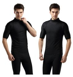 359ddb56c6 SBART rash guard suit for men uv protection long sleeve windsurf surfing swimsuit  swimwear sharkskin swimming shirt diving suit-in Rash Guard from Sports ...