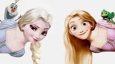 Frozen / Tangled crossover
