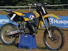 2000 Factory Husqvarna CR125 of Alessio Chiodi | Flickr - Photo Sharing!