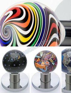 Art Glass Doorknobs