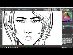 This is just a small example video of how I use Krita for making lineart. Originally I made it to show my friend some techniques. Drawing Tablet, Digital Art Tutorial, Art Poses, Art Tips, Art Tutorials, Art Drawings, Youtube, Design