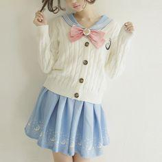 Japanese Sailor Moon Bow Skirt