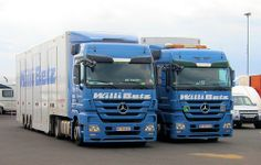 Mercedes Benz trucks @ Nürburgring