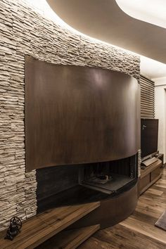 Awesome Fireplace - Private House, Perugia, Giammetta Architects
