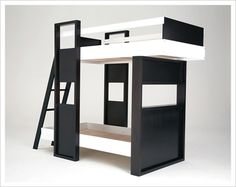 Children's Bunk Beds Safety Rules: Choosing The Modern Bunk Beds For Childrens Limited Space ~ gtrinity.com Bedroom Design Inspiration
