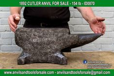 Ask for price with ID0870 on anvilsandtoolsforsale@gmail.com All pictures of all anvils on our website anvil for sale, anvils, blacksmith, blacksmiths, blacksmithing, antique tools, tool collector, swage block, stake, cone, cutler, french pig, amboss, incudine, schmied, forgeron, forge, enclume, forged, blacksmith tools, old tools, vintage tools, handtools, iron work, vise, stake, coutellier, chamouton, hulot harmel, collection, outil ancien, outils anciens, bigorne, art populaire, enclume