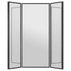 STAVE Mirror - black-brown, 63x63  - IKEA $129.97 Great Size & Function for Bedrooms, Bathrooms or Walk-in closets.