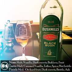 I like the Bushmills Black Bush. It's joined the Jameson Black Barrel as one of my favorite Irish blends. It has an easy warmth to it that makes it enjoyable to sip while it's overall flavor profile makes it great for cocktails and long drinks. It's a versatile blend and it's rare for me to not have it in the house.