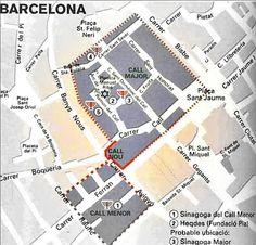 El Call de Barcelona es el sector del actual barrio gótico que antiguamente había sido el barrio judío de Barcelona. La palabra Call significa callejón estrecho. Uno de los mejores conocedores de Barcelona, Alexandre Cirici i Pellicer, fijaba los límites del barrio judío del Call entre las puertas del Castell Nou y el Palau Episcopal, que formaba parte de la muralla romana. El eje de ese pequeño territorio es precisamente la calle del Call.
