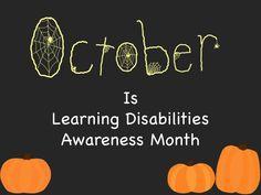 October Is Learning Disabilities Awareness Month - Teachers Pay Teachers