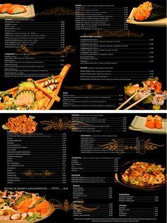 Cardápio Restaurante Japonês