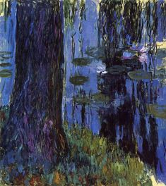 Claude Monet - Weeping Willow and Water-Lily Pond 1919