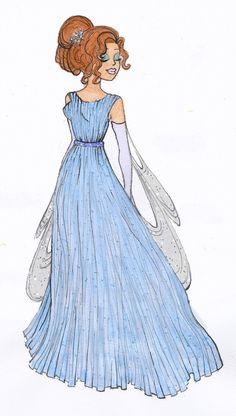 Designer Disney: Wendy by ~Becca-Emmett on deviantART