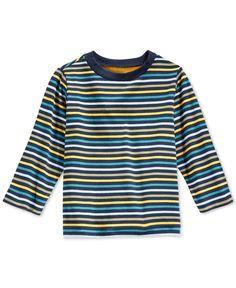 First Impressions Baby Boys' Multi-Stripe T-Shirt