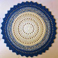 Mandala Rug - free pattern