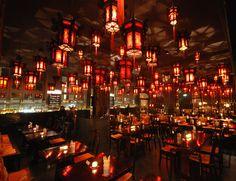 Super Stylish Chinese restaurant Shanghai Tan near Naschmarkt, Vienna