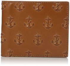 1477852c9dbc5 Jack Spade Mens Embossed Anchor International Wallet Saddle One Size -- You  can find more details by visiting the image link. Note  It s an affiliate  link ...
