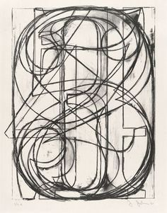 """0 through 9  Jasper Johns /  1960. Lithograph, composition (irreg.): 24 1/2 x 18 15/16"""" (62.2 x 48.1 cm); sheet: 30 x 22 5/16"""" (76.2 x 56.7 cm). Publisher and printer: Universal Limited Art Editions, West Islip, New York. Edition: 35. Gift of Mr. and Mrs. Armand P. Bartos. © 2011 Jasper Johns and U.L.A.E. / Licensed by VAGA, New York, NY"""