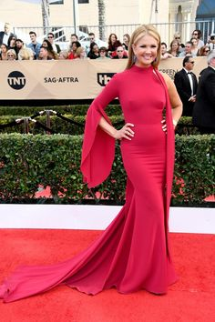 Nancy O'Dell @ 23rd Annual SAG Awards Red Carpet Arrivals | Screen Actors Guild Awards