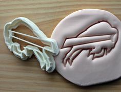 Buffalo Bills Symbol NFL Football Cookie Cutter / by SilhouCookies