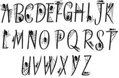 Next stop:The perfect halloween font