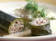 Κολοκυθάκια+γεμιστά+με+κιμά+και+σάλτσα+αυγολέμονο
