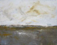 Abstract Landscape Seacsape Painting Orignal Art