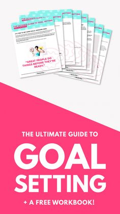 Click through for the Ultimate Guide to Goal Setting (plus a FREE workbook!) I created my own business over 5 years ago and have been working it full-time ever since! And how did it all start? With a simple, written goal. Business Goals, Business Tips, Online Business, Business Planning, Blog Planning, Goal Planning, Business Marketing, Inbound Marketing, Marketing Tools