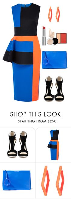 """Untitled #1742"" by ruru833 ❤ liked on Polyvore featuring Roksanda Ilincic, Dolce&Gabbana and Alexis Bittar"