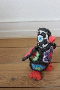 African flower pinguin -Deense pagina