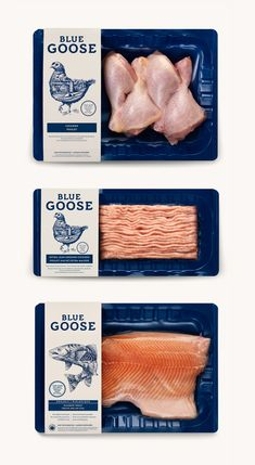 Blue Goose Pure Foods on Behance