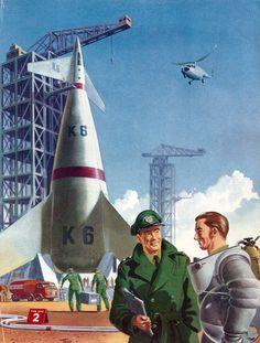 1950s Spaceship