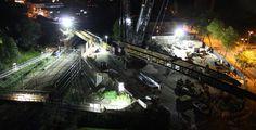 Baustellen Webcam Nachtaufnahme mit Canon EOS DSLR Kamera Mobile 3/4G