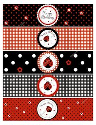 Items similar to Ladybug Water Bottle Labels - DIY Printable Birthday Party Decoration on Etsy Bug Birthday Cakes, Rapunzel Birthday Party, Frozen Birthday Party, Happy Birthday Banners, 2nd Birthday, Baby Ladybug, Ladybug Party, Cumpleaños Lady Bug, Bubble Guppies Birthday