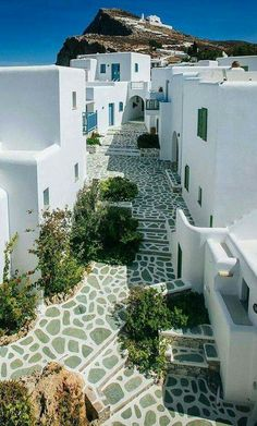 Chora town - Folegandros, Greece