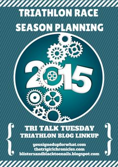 Triathlon Race Season Planning - tips for planning your race season whether it be sprint, Olympic, or Ironman.